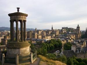 Vistas de Edimburgo desde Calton Hill