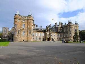 Exterior Palacio de Holyroodhouse